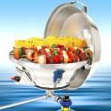 Barbacoa Marine Kettle2® de Gas con Fogón